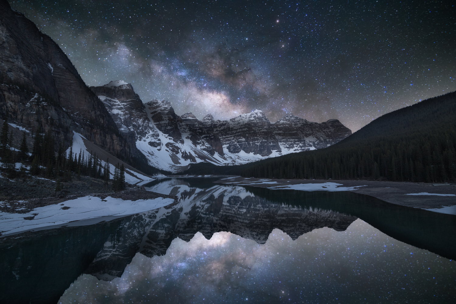 Moraine Lake - Milky Way Editing Tutorial
