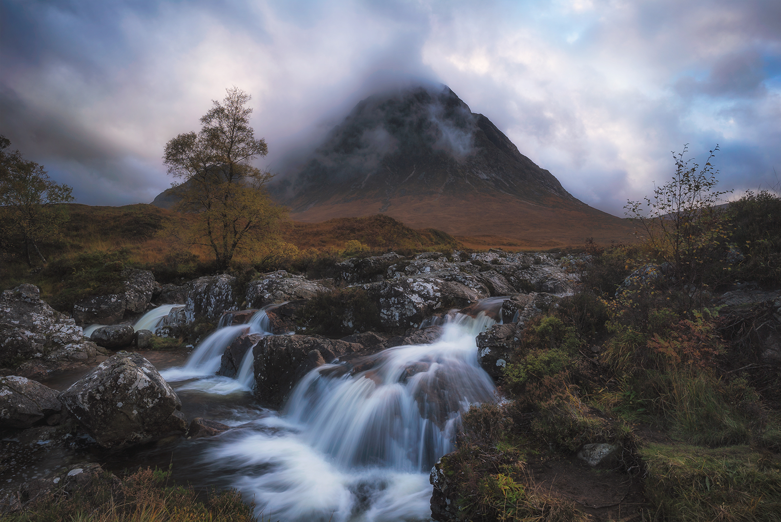 Picturesque Buachaille Etive Mor in Glencoe.