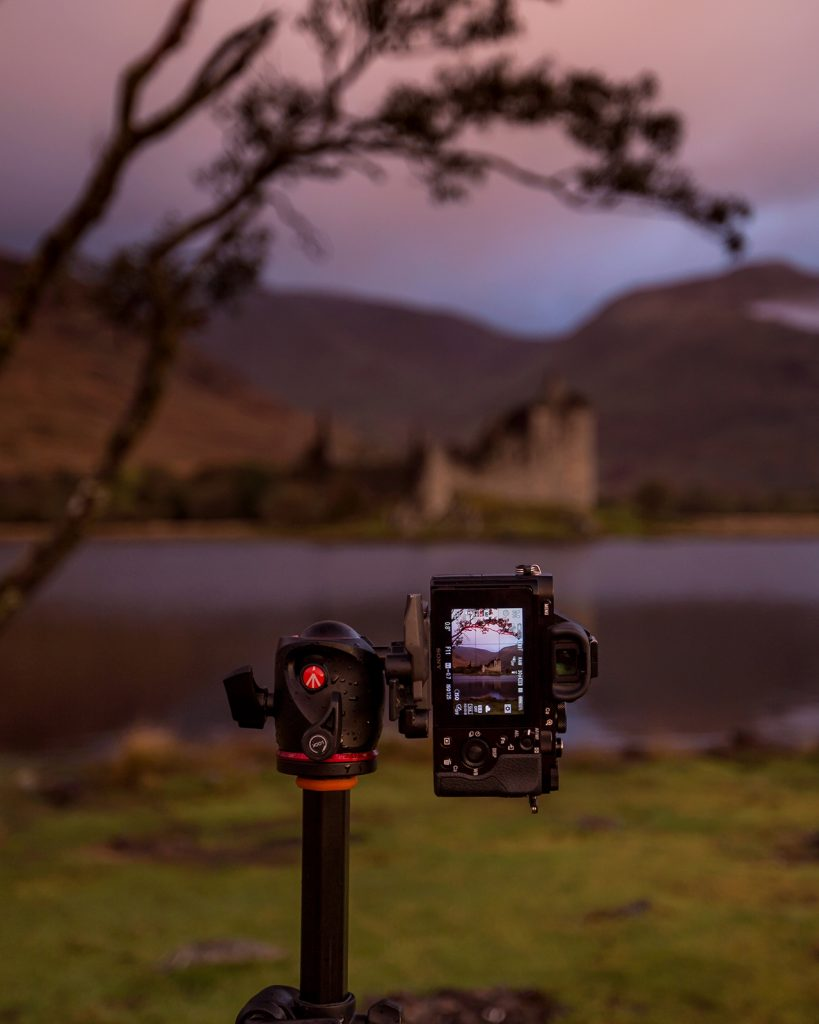 Recommended equipment for the Scotland Photography Workshop