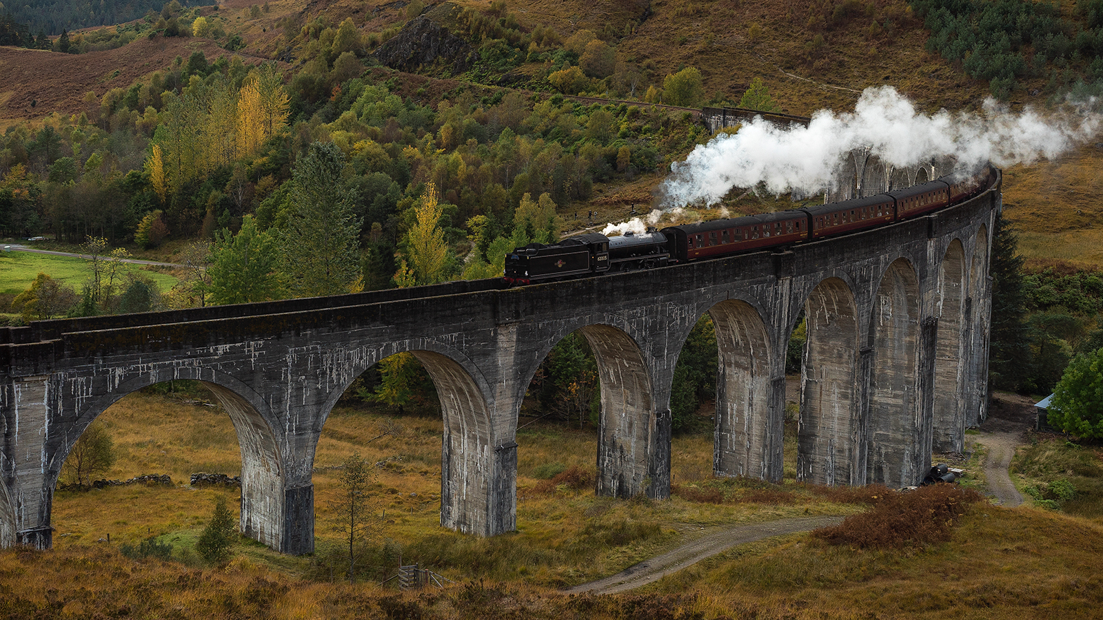 Calling all Harry Potter fans! All aboard the Hogwarts Express on the Scotland Photography Workshop!
