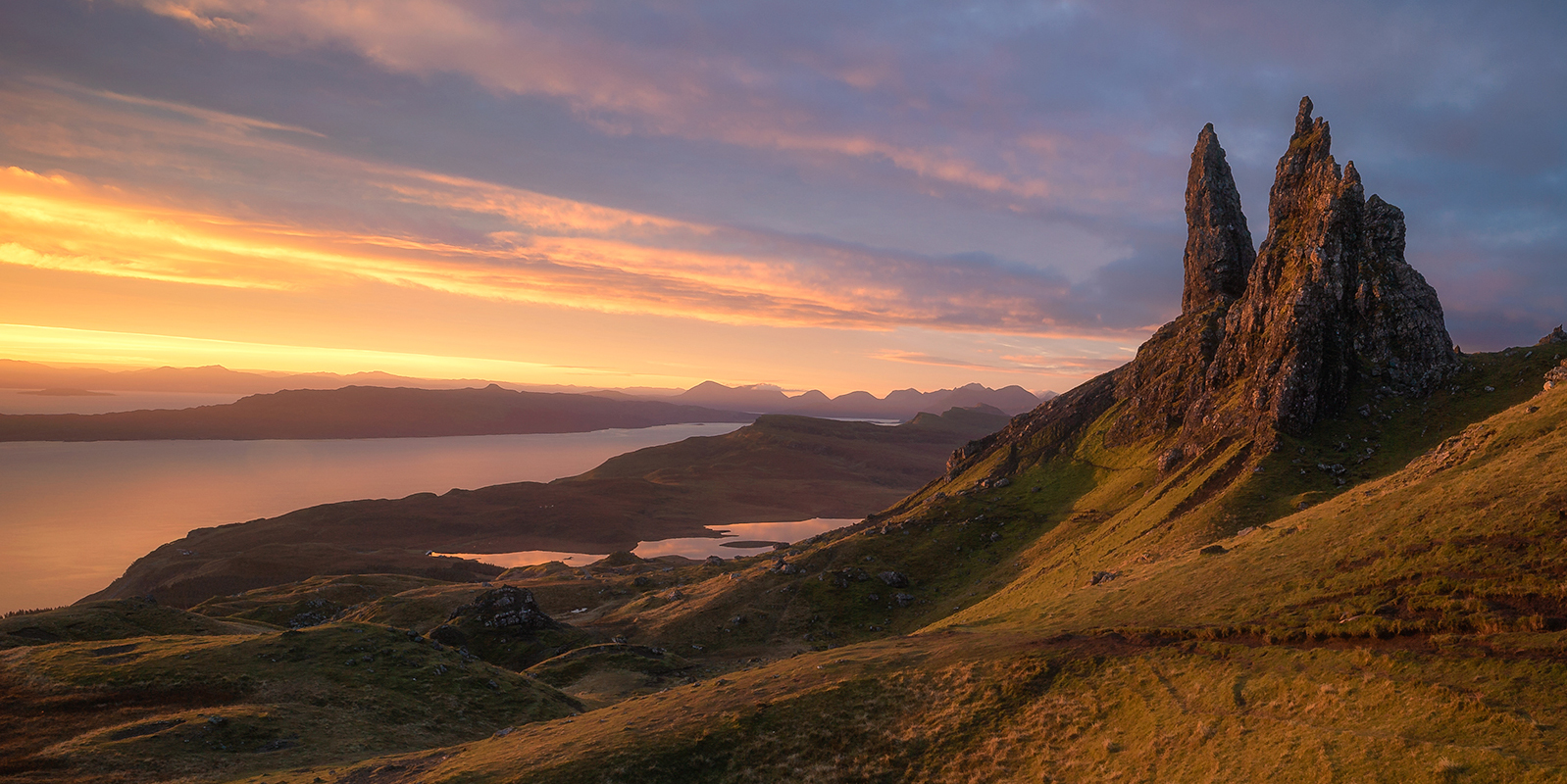 View from the Old Man of Storr on the Scotland Photography Workshop