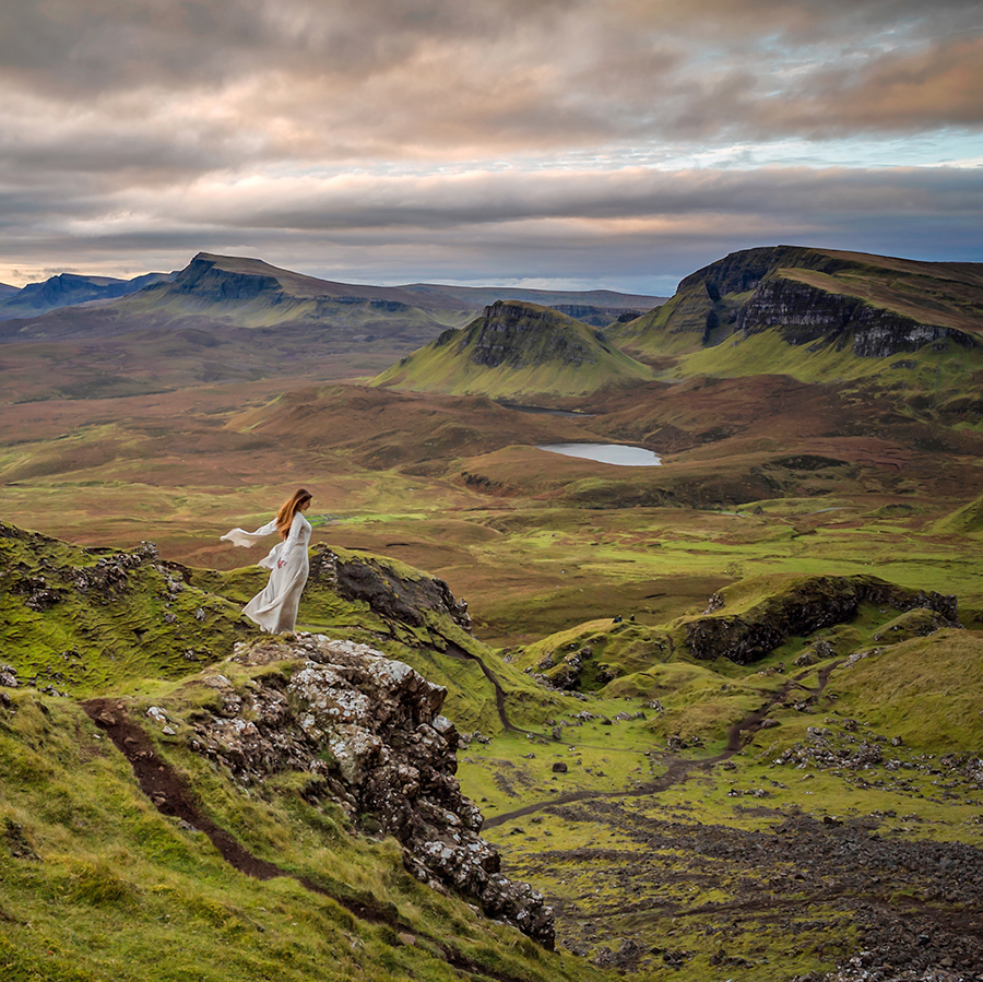 Dramatic views of the Quiraing on the Scotland Photography Workshop.