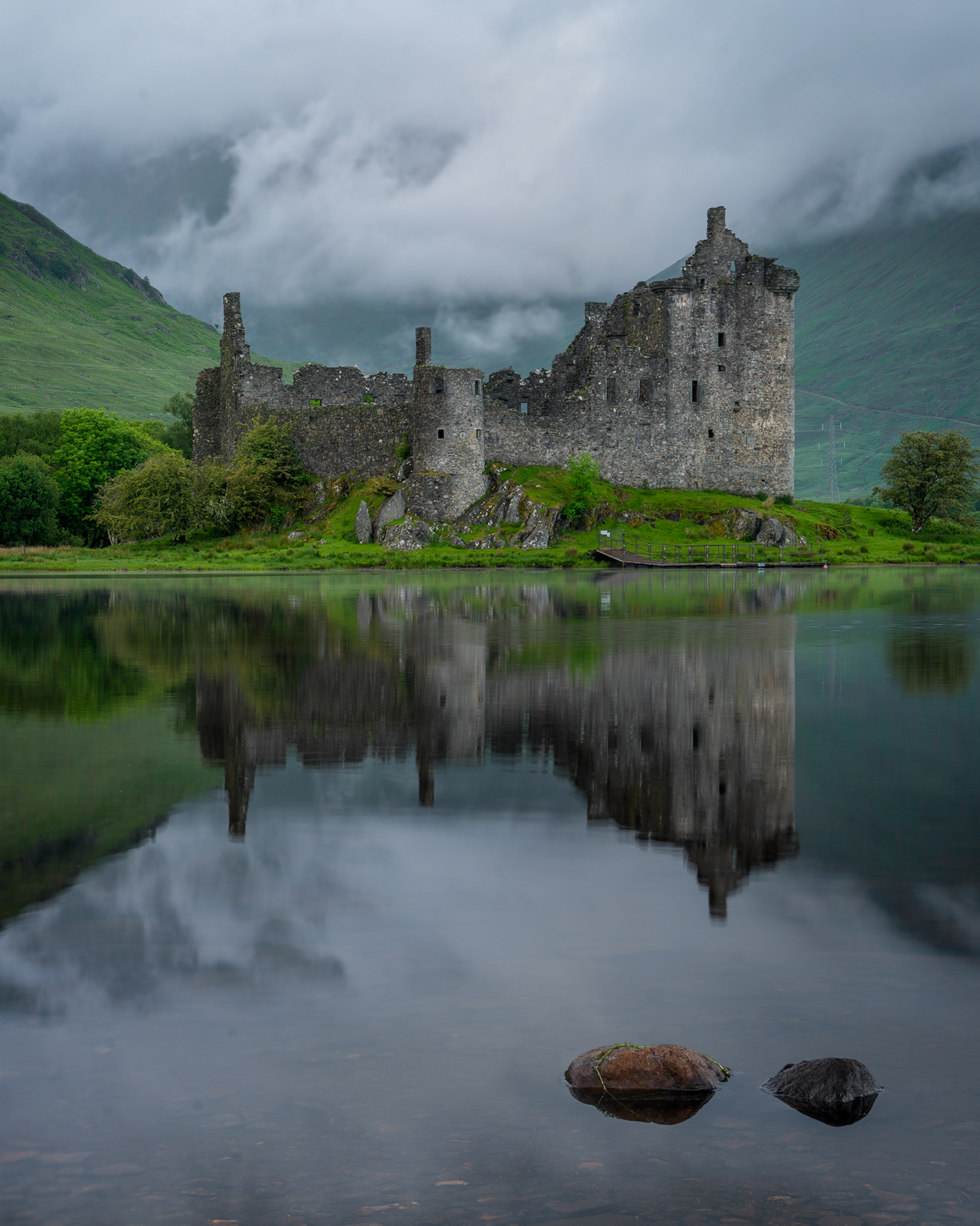 Sunset at Kilchurn Castle on the Scotland Photography Workshop